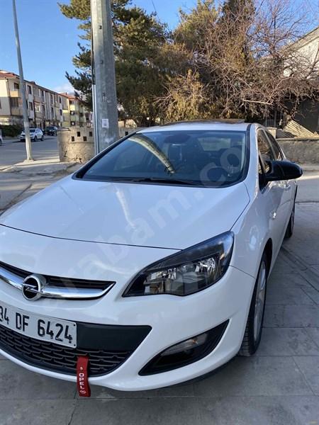Sahibinden Opel Astra 1.4 T Sport 2014 Model Erzincan 98.000 Km Beyaz