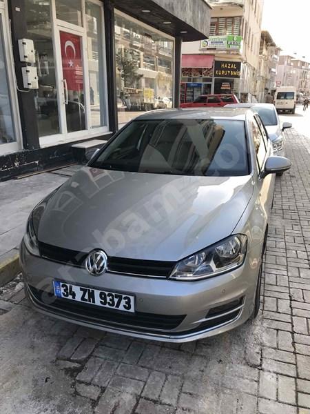 Sahibinden Volkswagen Golf 1.6 Tdi Bluemotion Comfortline 2015 Model Isparta 96.500 Km Gri (titanyum)