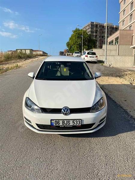 Sahibinden Volkswagen Golf 1.2 Tsi Comfortline 2014 Model Bursa 141.500 Km Beyaz