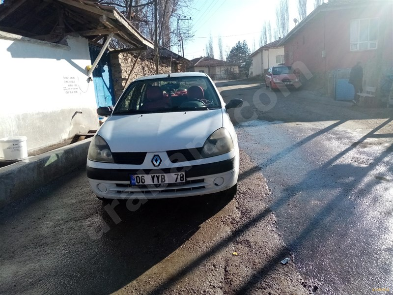Sahibinden Renault Clio 1.4 Authentique 2003 Model Ankara 230.000 Km -