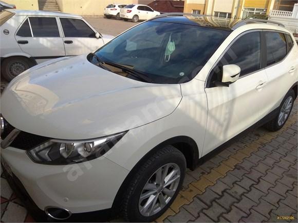 HASIZ BOYASIZ TRAMERSİZ Sahibinden Nissan Qashqai 1.5 dCi Sky Pack  CAM TAVAN