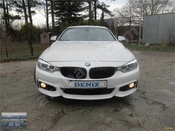 2015 BOYASIZ BMW 4 20 D M SPORT CABRİO EXTRALI TRAMER YOK