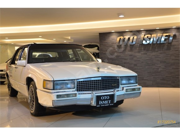 1990 CADILLAC DEVILLE 4.5 V8 - 70.210MİL - MÜKEMMEL KONSİYONDA