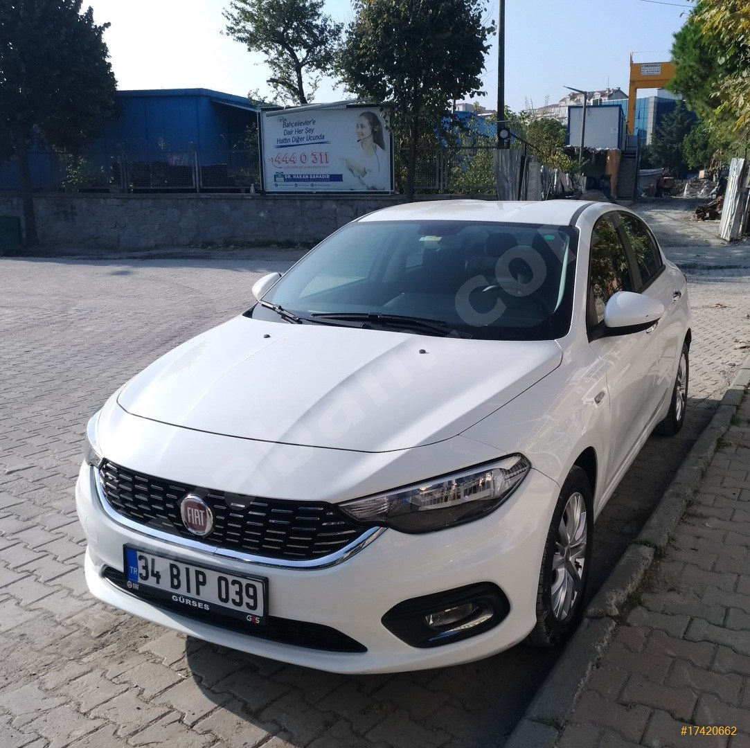 sahibinden fiat egea 1 3 multijet easy plus 2018 model istanbul 79 000 km beyaz 17420662 arabam com
