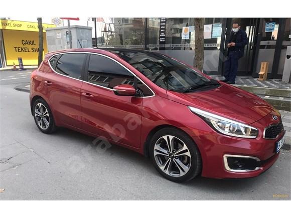 2016 boyasız Kia Ceed 1.6 CRDi Concept Plus 2016 Model İstanbul