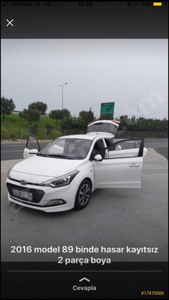 Sahibinden Hyundai I20 1.4 Crdi Style 2016 Model İstanbul 90.000 Km -