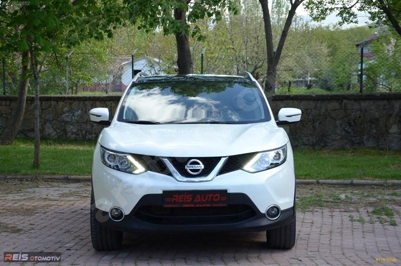 Galeriden Nissan Qashqai 1.5 Dci Black Edition 2016 Model Afyonkarahisar 60.000 Km Beyaz