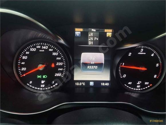 Sahibinden Mercedes - Benz C 200 d BlueTEC Fascination 2016 Model İzmir