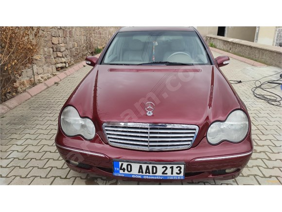 Sahibinden Mercedes - Benz C 200 Kompressor Elegance 2001 Model Nevşehir