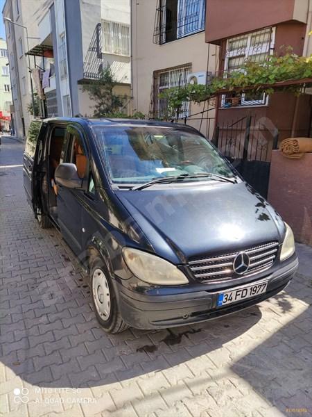 Sahibinden Mercedes - Benz Vito 111 Cdi Camlıvan 2008 Model Mersin 500.000 Km Siyah