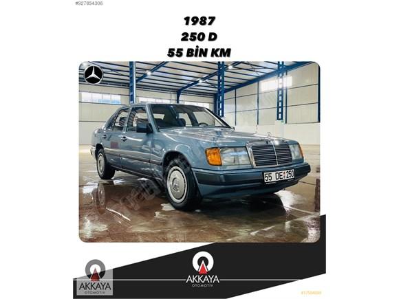 AKKAYA OTOMOTİVDEN 1987 250 D W124