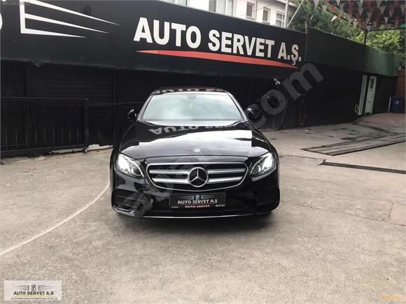 AUTO SERVETTEN 2017 MODEL MERCEDES E-220 4 MATİC 18 FATURA