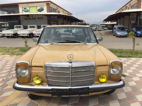SERDAR'DAN Mercedes - Benz 200 D Aydın 1973 MODEL DİZEL ORJİNAL GARAJ ARABASI