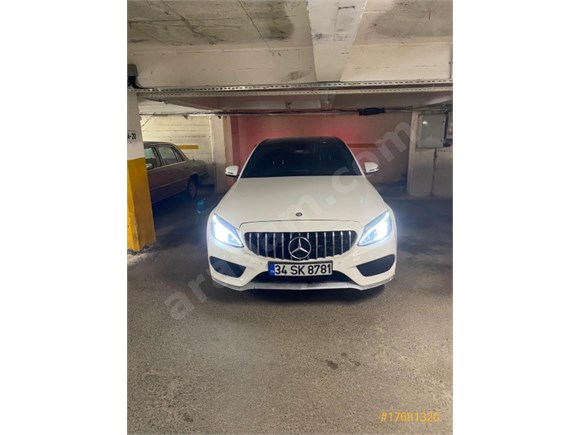 Sahibinden Mercedes - Benz C 180 AMG 7G-Tronic 2016 Model