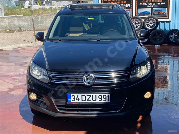 Sahibinden Volkswagen Tiguan 2.0 TDI Sport&Style 2015 Model