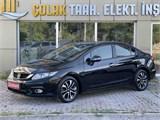 ÇOLAK AUTO 2015 HONDA CİVİC 1.6 FABR.LPG-F1-KOLTUK ISITMA-SUNRF
